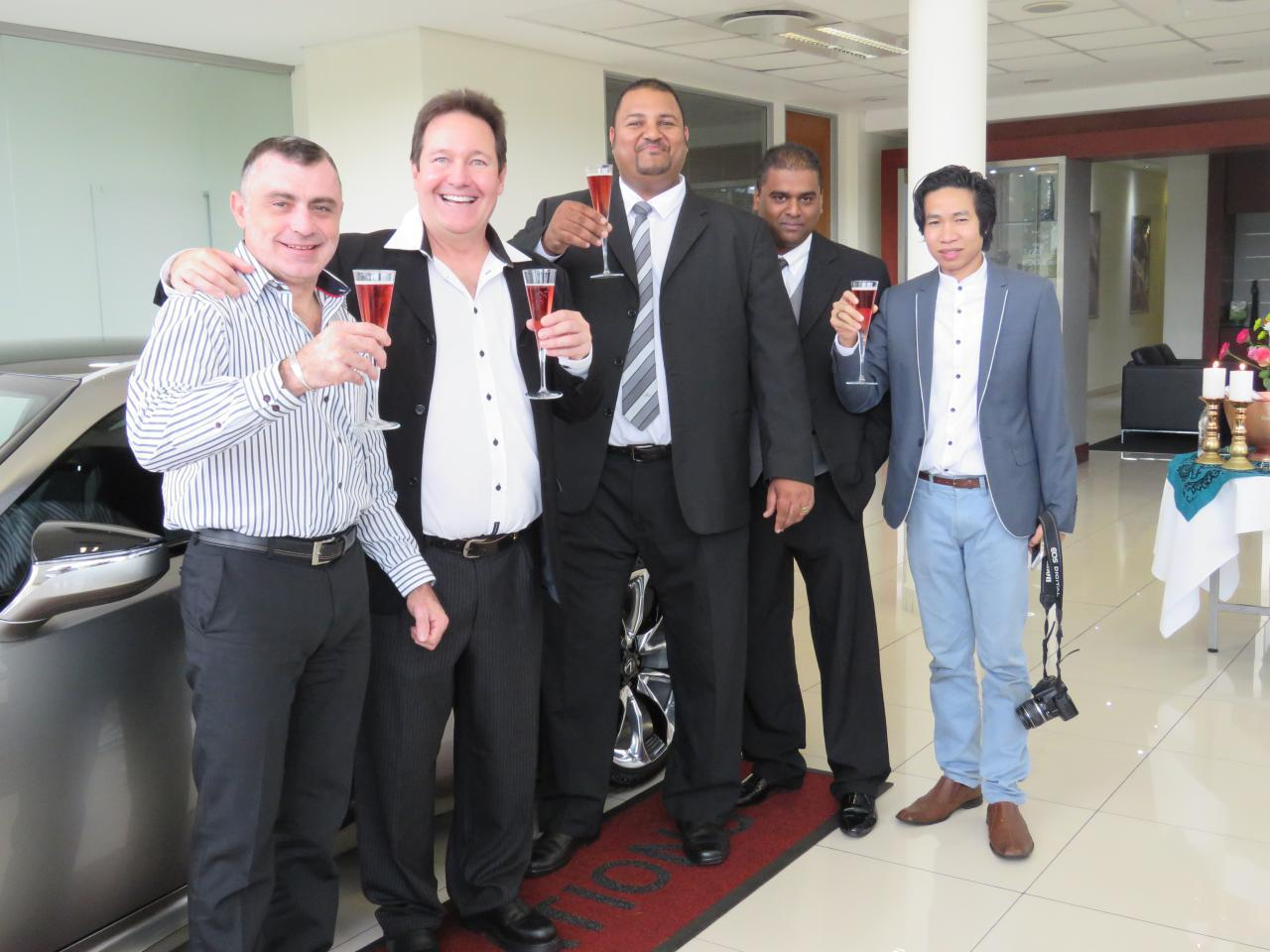 CMH Lexus Delivers First Lexus LC500 In South Africa