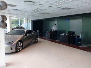 CMH Lexus Showroom