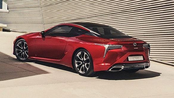 CMH Lexus - red LExus LC